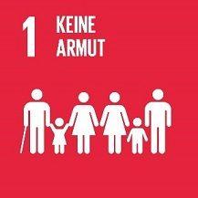 Agenda 2030 SDG 1: Keine Armut (klein)©UN