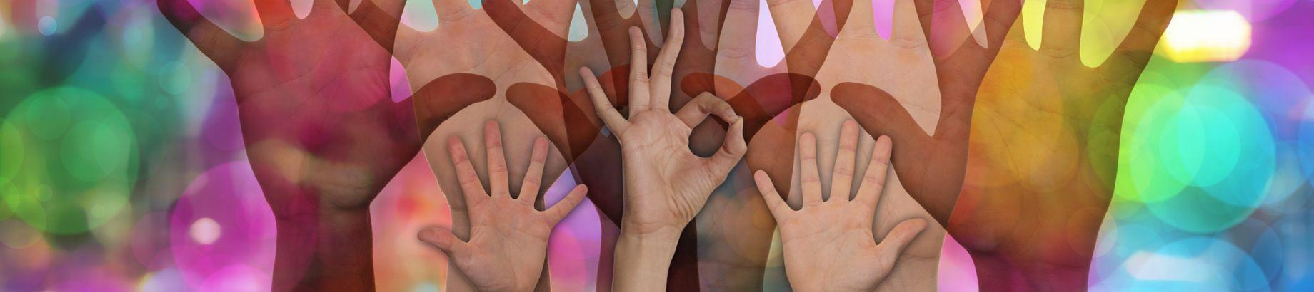 Freiwillige Hände
