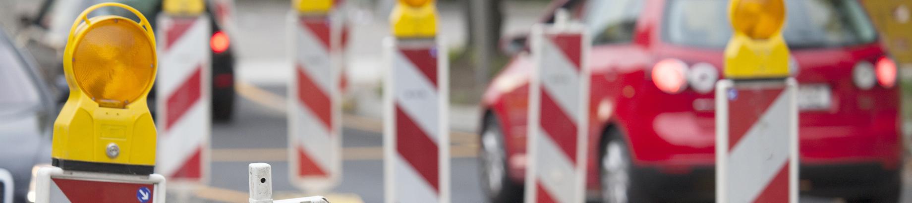 Header Baustellen und Verkehr