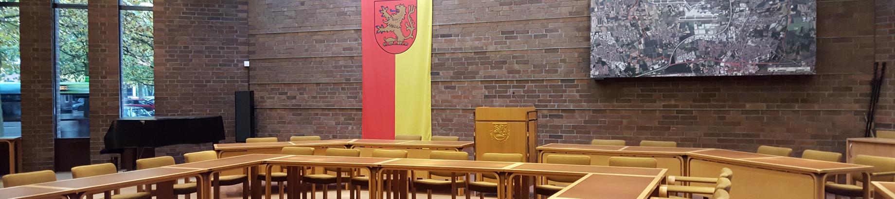 Ratssaal der Stadt Langenhagen